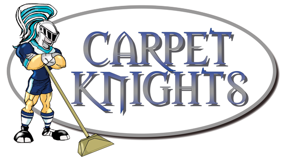 Carpet Knights, carpet, rug and upholstery cleaners logo
